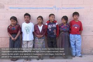 stunting in Guatemala