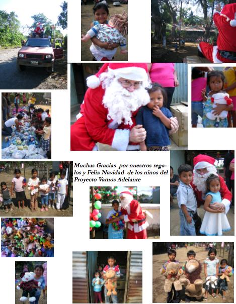 Santa visits Guatemala